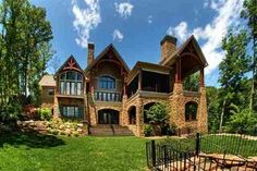 covered spaces -  cliffs at keowee springs home house