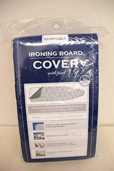 RAYMOND WAITES  IRONING BOARD COVER  WHiITE GRAY BLUE GREEN PINK FLORAL 55 x 18
