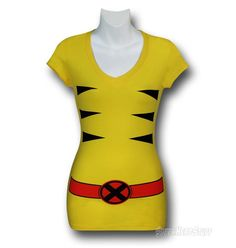 All This Ladies Juniors V-Neck Shirt Needs Are Some Adamantium Claws
