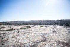 i have lived in georgia almost all of my life, but had never heard of  arabia mountain...until recently.  usually overshadowed by massive Stone Mountain (and its surrounding theme  park), arabia mountain is formed from the same granite and is wonderfully  quiet and secluded. a small trail leads you from the nature center to the  mountain. once there, you may ramble all across the rock face, or choose to  walk (or bike) some of the surrounding trails. our children loved it!  i never tire of…