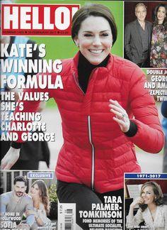 Hello magazine Kate Middleton George Clooney Sofia Vergara Tara Palmer Tomkinson