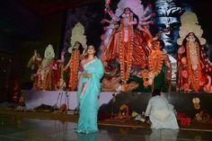 "Mumbai: ""Durga Pooja"" Kajol - Social News XYZ"