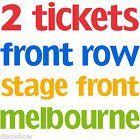 #Ticket  2 x Amy Schumer Tickets  True Front Row  Floor Row A  Melbourne #Australia