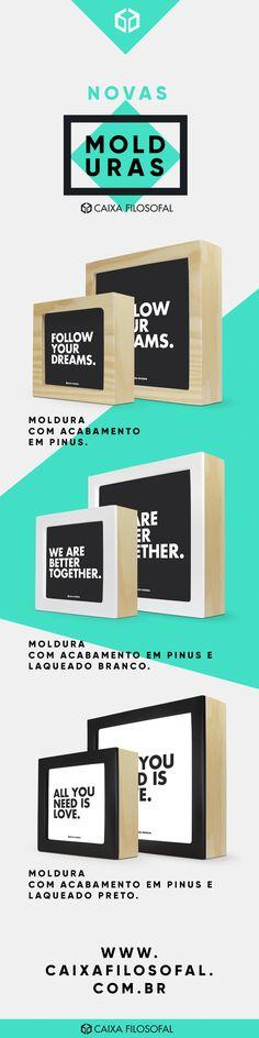 Já viu nossos novos quadrinhos? Eles estão INCRÍVEIS! Os quadros com frases são uma ótima opção de presente criativo. Nós também trabalhamos com presentes corporativos e são perfeitos para serem dados como brinde em eventos e ações internas e externas das empresas. #giftscorporativos #quadrocomfrase #quadros #decoração #frases #citações #corporativo #moldura #presentecriativo #presentescriativos #presente #criativo #criativos #inpiração #motivação amor namorados namorada