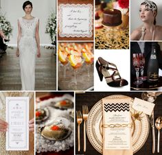 Great Gatsby Inspiration based on Jenny Packham's GORGEOUS Esme gown! http://www.culinarycrafts.com/2013/04/23/great-gasby-inspiration-trendy-tuesday/
