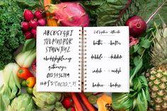 Backyard Garden Script Font - Beautiful and fresh Script font