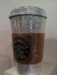 bling starbucks coffe cup