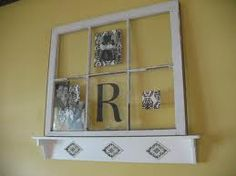 old window projects - I have a ton of these old windows Love This