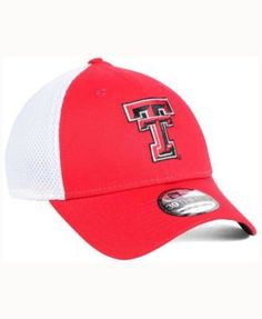 check out 81eb2 f6c88 ... low cost new era texas tech red raiders mb neo 39thirty cap red white m  75866