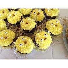 Easter brownie chicks