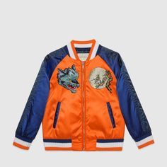 88202e991cf Children s embroidered bomber jacket