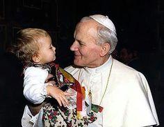 John Paul the Great Paul 2, Pope John Paul Ii, Catholic Kids, Catholic Saints, Saint Jean Paul Ii, Saint John, Johannes Paul Ii, Papa Juan Pablo Ii, Pape Jeans