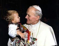 St John Paul II..picture from Lighthouse Media