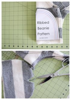 Ribbed Beanie Free Pattern and Tutorial