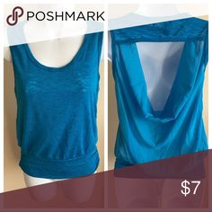 Top Color: Blue Size: Small Condition: New Tops Tank Tops