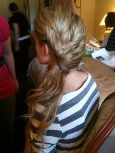 Bridesmaids hair??