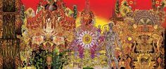 """Megamundo"" - Digital collage - 120x50cm - £POA"