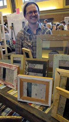 Frames from old wood