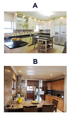 Which kitchen do you prefer? Real Estate Companies, Kitchen, Home Decor, Cooking, Decoration Home, Room Decor, Kitchens, Cuisine, Home Interior Design