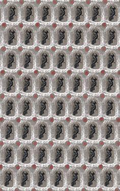Martje: Hugin pattern by Jenna Marttila Ice Cube Trays, Printing, Patterns, Pattern, Ice Makers, Printmaking, Art Designs, Fashion Models, Templates