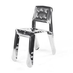 Chippensteel 0.5 Chair Inox  by Zieta