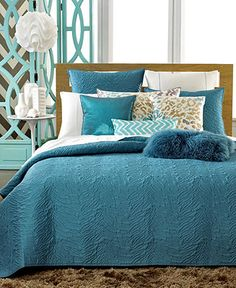 INC International Concepts Cheetah Quilted Coverlet Collection - Bedding Collections - Bed & Bath - Macy's