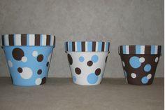 Hand painted flower pots with acrylic paint Handbemalte Blumentöpfe mit Acrylfarbe Flower Pot Art, Flower Pot Design, Flower Pot Crafts, Nice Flower, Clay Pot Projects, Clay Pot Crafts, Painted Plant Pots, Painted Flower Pots, Decorated Flower Pots