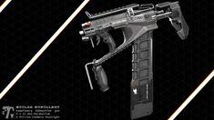 ArtStation - Kampfzwerg SMG, Moritz Viktor Müller Great Britain, Guns, Concept, Weapons, Tech, Posters, Weapons Guns, Weapons Guns, Weapon