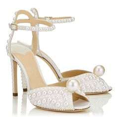 Fairly Summer High Heels Shoes Slip On Open Toe Heels Party Club Dress Shoes,Ivory,11.5