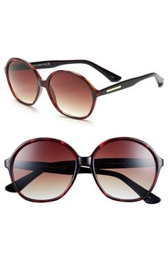 Vince Camuto 59mm Round Sunglasses available at #Nordstrom