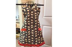 Pumpkin Spice Full Bib Apron by SpicyAprons on Etsy