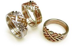 Unique Puzzle Rings by PuzzleRingMaker