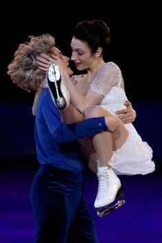 Meryl Davis and Charlie White of United States during the Figure Skating Exhibition Gala (c) Getty Images