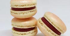 Ganache Macaron, Macaroon Cake, Cupcakes, Biscuits, Cheesecake, Bread, Fruit, Cooking, Food