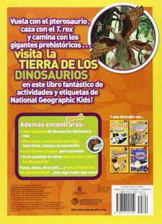 Dinosaurios: Mi Mejor Coleccion de Etiquetas National Geographic Kids: Amazon.es: Thomas Nelson: Libros