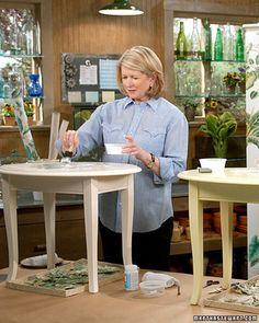 Botanical Decoupage | Martha Stewart