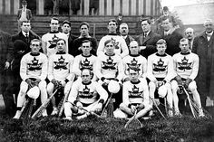 Canada's first national lacrosse team at the London 1908 Olympic Games - Lacrosse is Canada's national summer sport while hockey is the national winter sport - lacrosse was declared first, though. Lacrosse, Hockey, London Summer Olympics, Winter Olympics, Olympic Team, Olympic Games, Canadian History, O Canada, Winter Sports