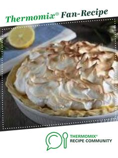 Lemon Meringue Pie by Thermomix in Australia. A Thermomix ®️️ recipe in the… Lemon Meringue Pie by Thermomix in Australia. A Thermomix ®️️ recipe in the category Baking – sweet on www.recipecommuni…, the Thermomix ®️️ Community. Lemon Meringue Recipe, Lemon Curd Pie, Lemon Recipes, Sweet Recipes, Thermomix Desserts, Sweet Pastries, Cake Cookies, Just Desserts