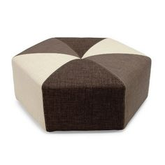 $399, Sixtree Ottoman, 35x12. This playful modular ottoman compliments a variety of living space designs - including the many convertible sofas and chairs from Innovation. The design features sturdy pocket springs to ensure a comfortable and long life. Offer in three multicolor combinations. Select Sand/Olive/Dark Brown Begum, Dark Grey/Red/Black Ifelt or Black/White/Camel Leather Textile.