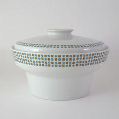 Vintage Paul McCobb Covered Vegetable Bowl, Contempri HopScotch, Mid-Century Modern Dinnerware, 1950's 1960's on Etsy, Sold