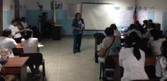 Enfermeras reciben talleres de formación personal