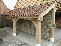 How Does Pergola Work Small Covered Patio, Outdoor Rooms, Outdoor Living, Timber Garage, Carport Designs, Timber Buildings, Backyard Sheds, Lean To, Pergola Shade