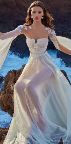 GALA by Galia Lahav Wedding Dress Collection No.5 - 1011 front #weddinggowns