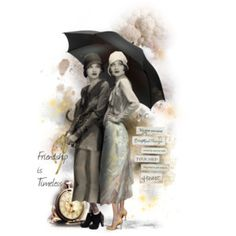 """""""Friends Weather the Storm Together"""" #25 ~ BEST FRIENDS Doll"""