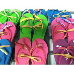 Dollar flip-flops + ribbon at Target = party favors for Pool Party. They might be too young for cheesy flip flops, not sure Swim Party Favors, Pool Party Themes, Pool Party Kids, Pool Party Decorations, Luau Party, Party Ideas, Summer Parties, Pool Parties, Summer Fun