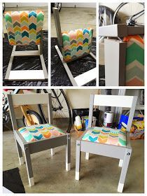 """I've been itching to do something crafty for my toddler, and when I came across the idea for """"hacking"""" the IKEA LATT table and chairs s..."""
