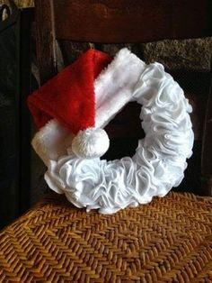 Tudo que mais gosto...: Guirlandas de Natal em feltro.
