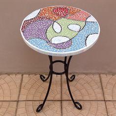 Mesa de #mosaico com