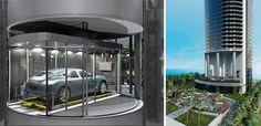 Porsche Designed Luxury Miami Condo Tower with Personal Car Elevator   Bornrich