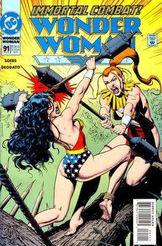 Cover for Wonder Woman (November 1994) #91